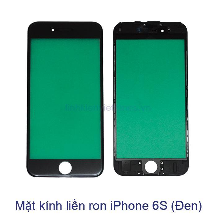 Mặt kính liền ron iPhone 6S đen