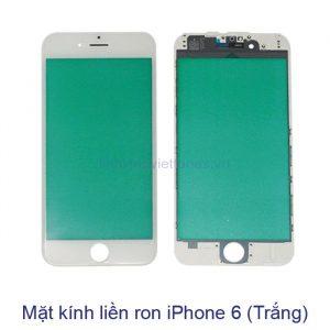 Mặt kính liền ron iPhone 6