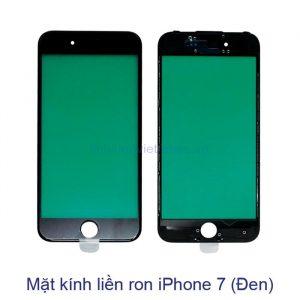 Mặt kính liền ron iPhone 7 đen