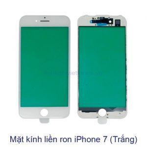 Mặt kính liền ron iPhone 7 trắng