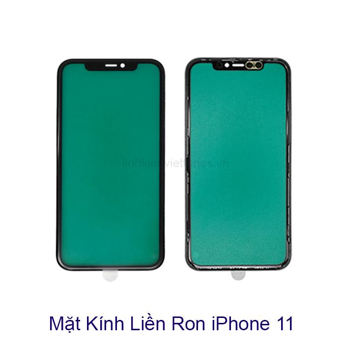 Mặt kính liền ron iphone 11
