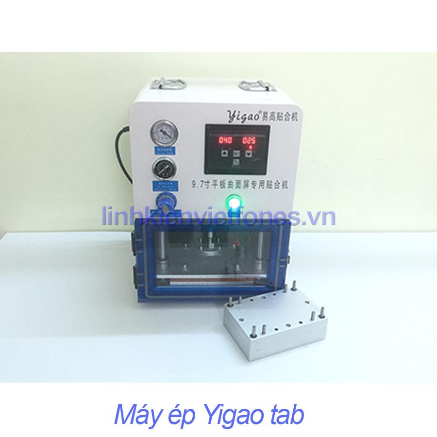 Máy ép yigao tab - thay mặt kính samsung A8