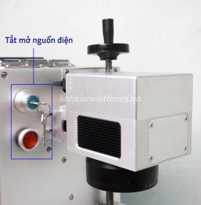 Công tắt mở nguồn điện máy khắc laser