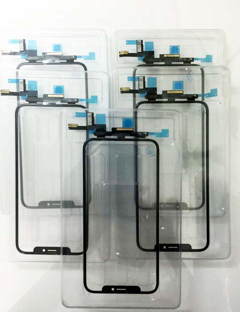 Mặt kính cảm ứng iphone X / XS socket hàn