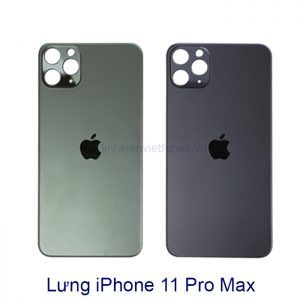 lung iphone 11 pro max xanh - đen