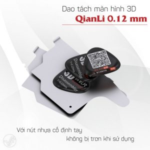 Dao tách màn hình 3D QianLi 0.12mm (bộ 5 lưỡi dao)