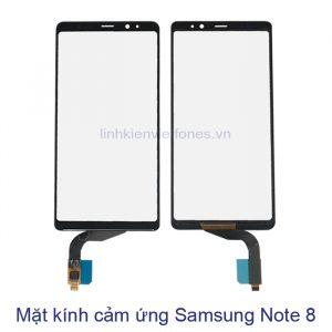 mặt kính cảm ứng samsung note8