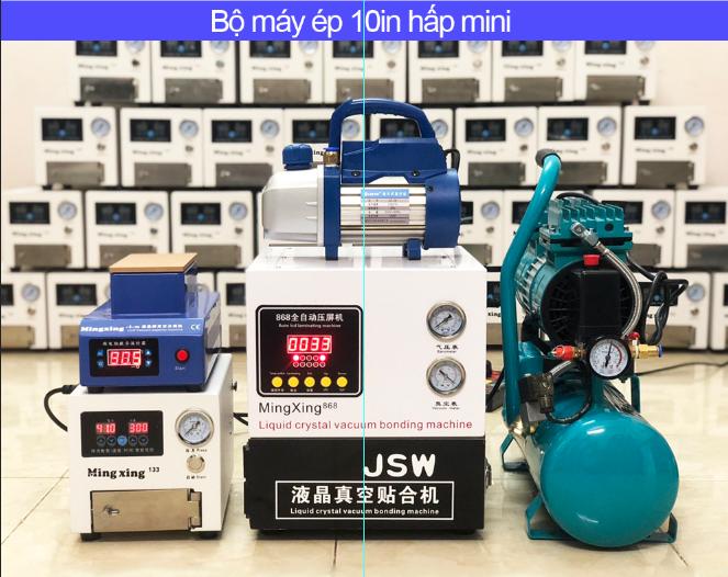 Bộ máy ép 10in hấp mini