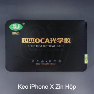 Keo iPhone X / XS/ 11 Pro (zin hộp)