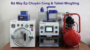 Bộ máy ép chuyên cong và tablet MingXing